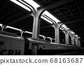 충칭 철도역 플랫폼 68163687