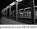 충칭 철도역 플랫폼 68163689