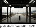 충칭 철도역 플랫폼 68163691