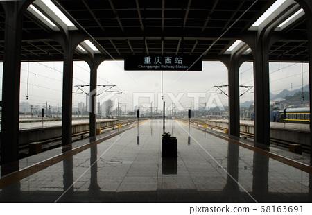 重慶站月台 68163691