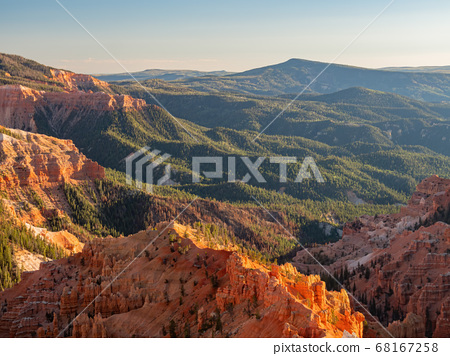 Beautiful landscape saw from North View Lookout of 68167258