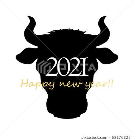 2021 ox year material 68176825