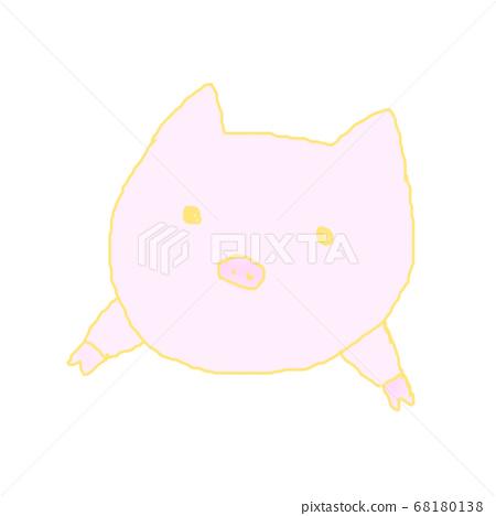 Staring at the pig 68180138