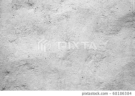 Texture of a concrete wall with cracks and 68186384