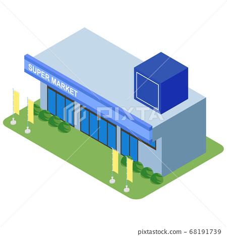 슈퍼마켓 68191739