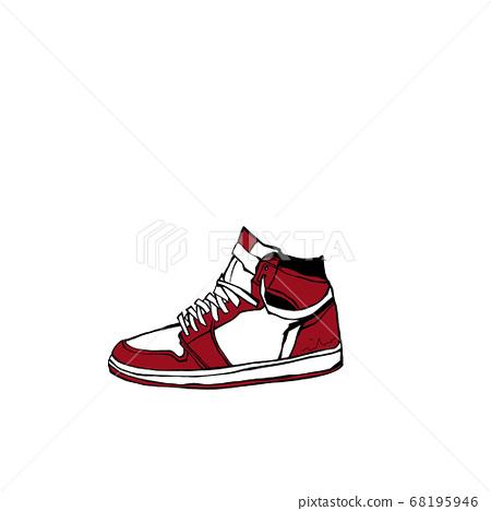 Sneaker illustration 68195946