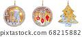 Christmas decoration ornament 68215882