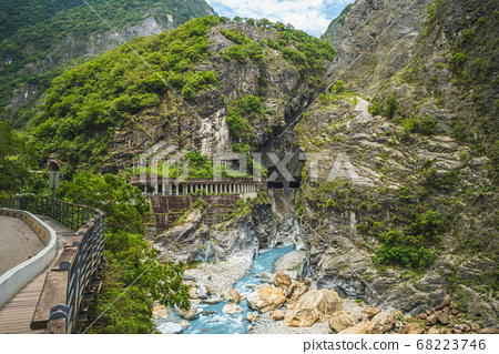Scenery of Taroko National Park in Hualien, Taiwan 68223746