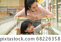 Shopping concept. Mother and daughter helping each 68226358