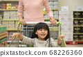 Shopping concept. Mother and daughter helping each 68226360