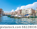 Venice, the water city of Italy and the clouds 68228036