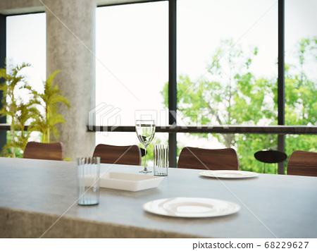 室內圖像咖啡館 68229627