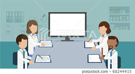 Doctor conference concept 68244415