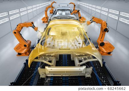 Automation aumobile factory 68245662