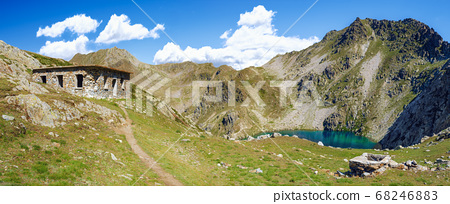 Vinadio, path in the mountains of Maritime Alps 68246883