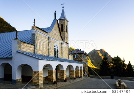 Vinadio (Piedmont, Italy), Sanctuary of Sant'Anna 68247404