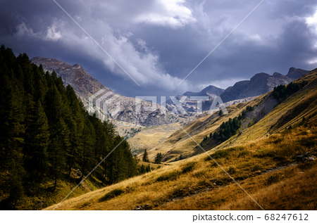 Mercantour National Park, between France and Italy 68247612