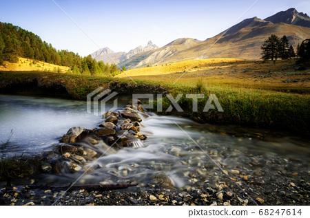 Mercantour National Park in France 68247614