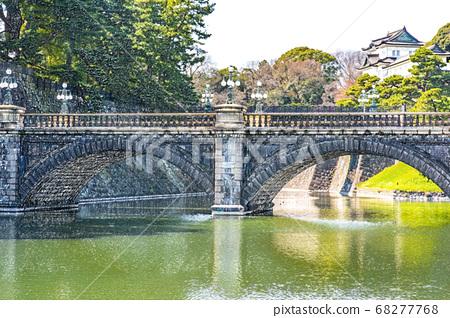 [Imperial Palace] Nijubashi [Colored pencils] 68277768