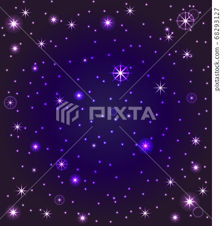vector illustration of a night sky with stars 68293127
