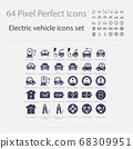 Battery Electric Vehicle Icon.(BEV,EV).Electric 68309951