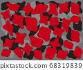 紅色,黑色和灰色組成 68319839