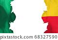 Blasted Benin flag 68327590