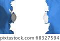 Blasted Antarctica flag 68327594