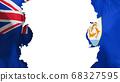 Blasted Anguilla flag 68327595