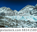 Himalaya mountains landscape 68341589