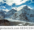Himalaya mountains landscape 68341594