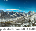 Himalaya mountains landscape 68341600