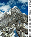 Himalaya mountains landscape 68341602