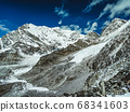 Himalaya mountains landscape 68341603