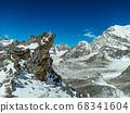 Himalaya mountains landscape 68341604