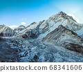 Himalaya mountain Everest landscape 68341606