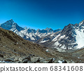 Himalaya mountains landscape 68341608