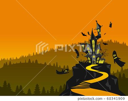 萬聖節4的影子城堡 68341909