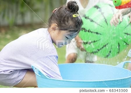 生活方式,孩子,水上游戲 68343300