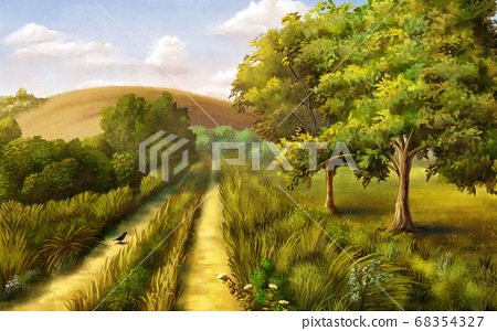 Country landscape 68354327