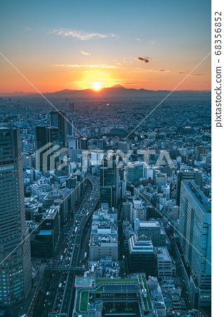 Shibuya Scramble Square opened in November 2019 in Shibuya, Tokyo, Japan 68356852