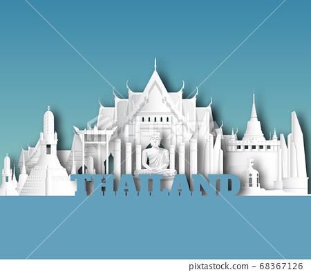 Thailand Landmark Global Travel And Journey paper 68367126