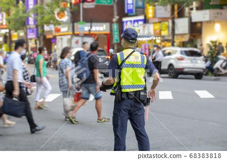 巡邏,警戒,警察,パトロール、警戒、警察、Patrol, alert, police, 68383818
