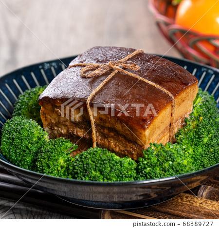 東坡肉 年菜 滷肉 控肉 魯肉 Dongpo Pork Braised Pork トンポーロー 68389727