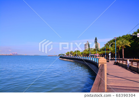 淡水河岸 68390304