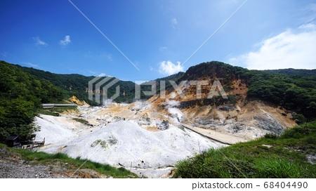 登別溫泉的地獄谷在日本風景最好 68404490