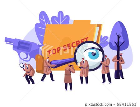 Police Detectives Private Investigators at Work 68411863