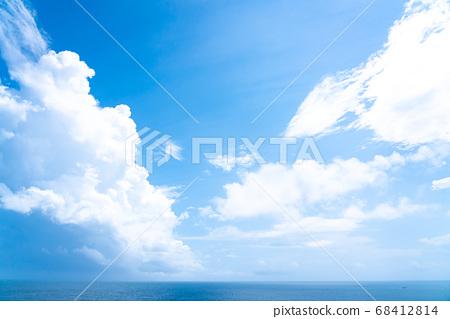 藍色的大海,灌溉雲(7月) 68412814
