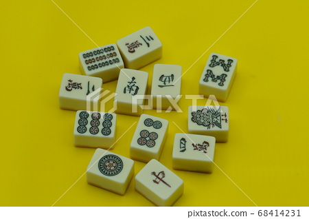 August 10, 2020 Taken at home: A picture of Mahjong tiles playing with the family 1 68414231