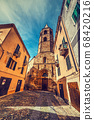 Duomo steeple in Alghero 68420216
